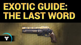 Planet Destiny: The Last Word Exotic Review (read description)