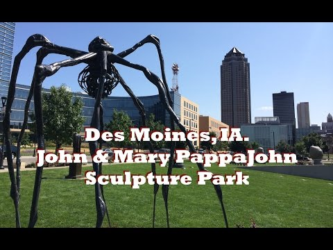 Des Moines Iowa John and Mary PappaJohn Sculpture Park