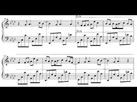 Sheet Music] Boulevard of Broken Dreams by Green Day (arr. Piano ...