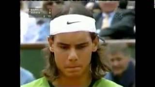 Roland-Garros Men's Final French Open 2005 Rafael Nadal vs. Mariano Puerta Full NBC coverage