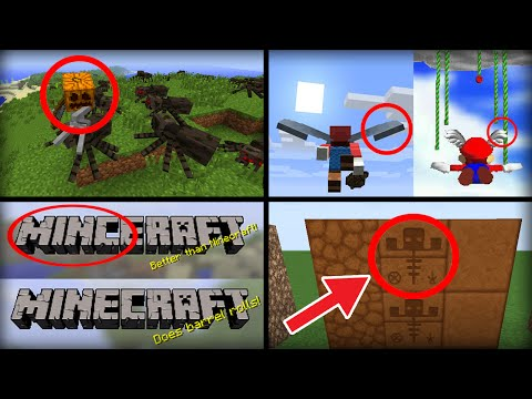 15 Secret Hidden Easter Eggs in Minecraft - YouTube