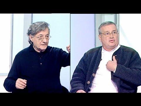 După 28 de ani de la Revoluţie, Mircea Dinescu şi Ion Caramitru revin într-un studio TVR