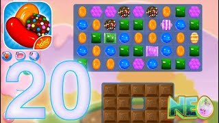 Candy Crush Saga: Gameplay Walkthrough Part 20 - LEVEL 72 - 74 COMPLETED (iOS, Android)