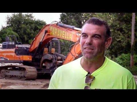 Doosan Real Work Stories: John Caravella With Crawler Excavators