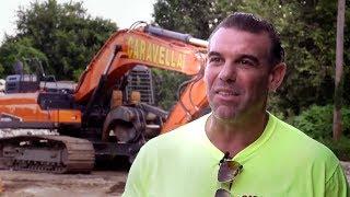 Video still for Doosan Real Work Stories: John Caravella With Crawler Excavators