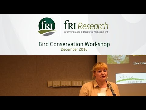 Migratory Birds Risk Assessment for Forest Industry in Alberta and BC | Lisa Takats Priestley