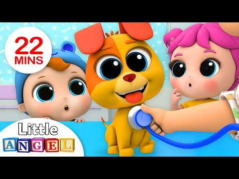 Bingo's First Bath | +More Nursery Rhymes by Little Angel