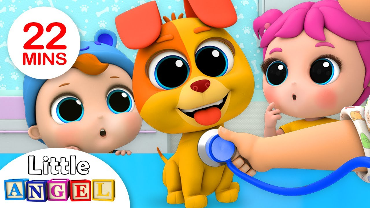 Bingos First Bath | +More Nursery Rhymes by Little Angel