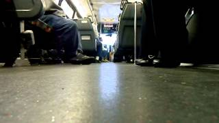 "On Board: New Jersey Transit 2001 Nova Bus Model RT802N ""RTS"" #1586 on Route GO25"