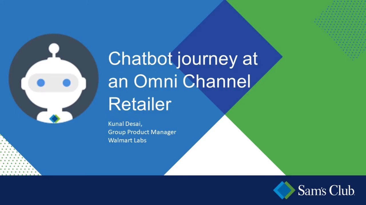 Chatbot Journey with Walmart