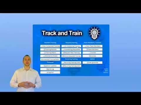 Track and Train   Employee Training Tracking Software   Demo Video