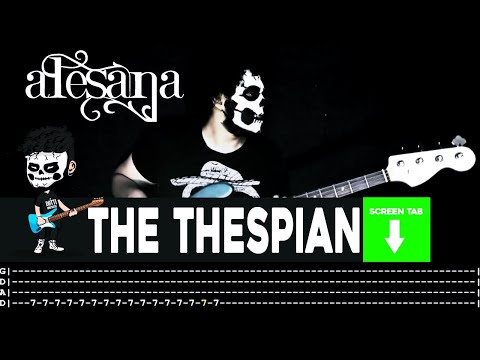 Alesana - The Thespian (Bass Cover by Cesar Dotti W/Tab)