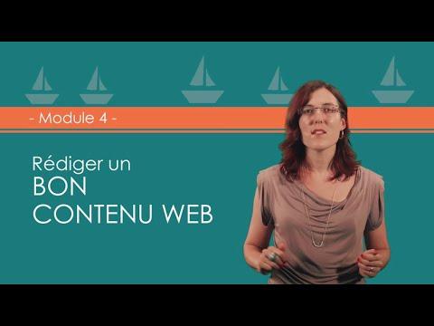 FORMATION 4 : Les Fondamentaux De L'écriture Web