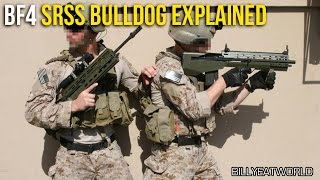 Battlefield 4 (PS4) - SRSS Bulldog Explained - Not Your Average Assault Rifle (BF4 M39 EMR Gameplay)