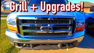 Cheap $4K Copart Ford F250 Super Duty 7 3 Diesel Grille + Upgrades!