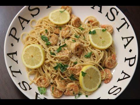 Creamy Lemon Shrimp Pasta - Cooked By Julie Episode 324