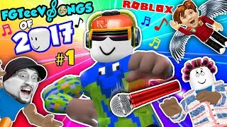ROBLOX SONGS of 2017! Grandma Get Away! (FGTEEV Music Video Gameplay Compilation) Youtube Rewind