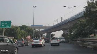 Four lane flyover at Dhaula Kuan - Delhi