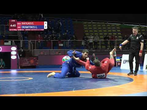 Qual. Men's GP Gi - 100 kg: E. RAFIGAEV (MDA) v. G. DRAMITINOS (GRE)