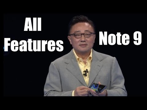 Samsung Unpacked Event (2018) - All Samsung Galaxy Note 9 Features in 10 mins