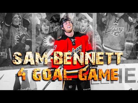 Sam Bennett 4 Goal Game - Jan 13, 2016