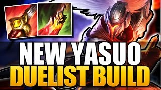 NEW YASUO BUILD - Duelist Yasuo - League of Legends