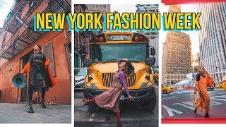 MY FIRST TIME AT NEW YORK FASHION WEEK! thumbnail