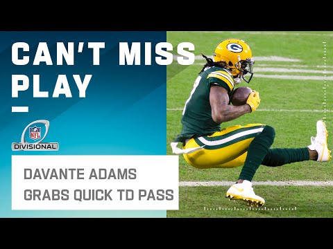 Round 1 Goes to Davante Adams!