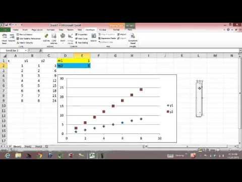Download Implementing Slider Bars in Excel 2010