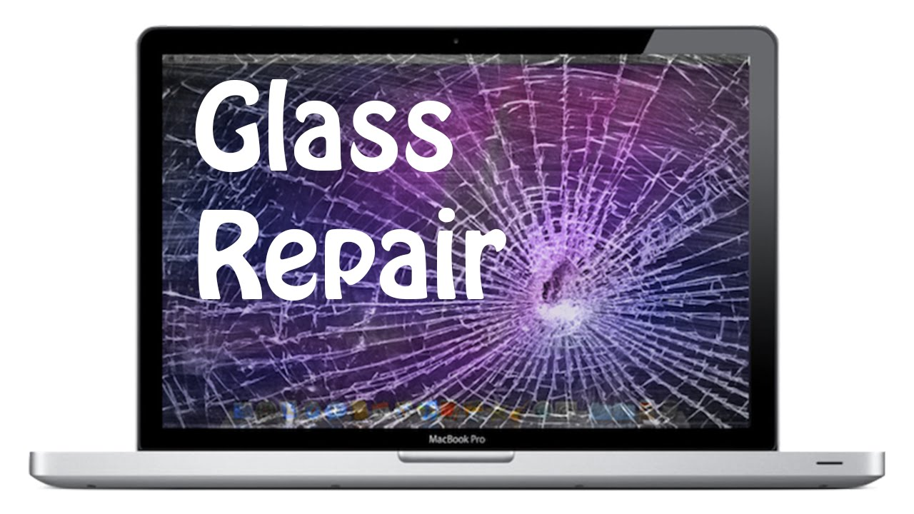 How to: Macbook Pro broken glass LCD cover replacement guide