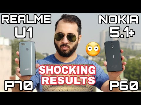 Realme U1 vs Nokia 5.1 Plus SpeedTest Comparison P70 vs P60 ColorOS vs Stock Android