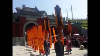 Master Liu at 4. International Taoist Forum in Wudang Shan / China