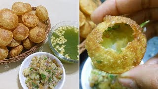 Pani Puri recipe by kitchen with amna