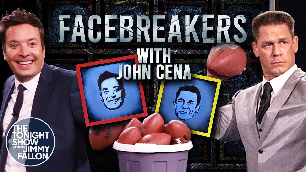 Facebreakers with John Cena | The Tonight Show Starring Jimmy Fallon