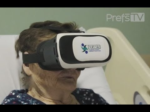 a0576d0b5 Óculos de realidade Virtual - Hospital do Idoso - YouTube
