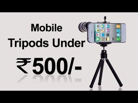 Top 5 - Best Mobile Tripod Camera stands under Rs 500 - Booking Online (Amazon, Flipkart)
