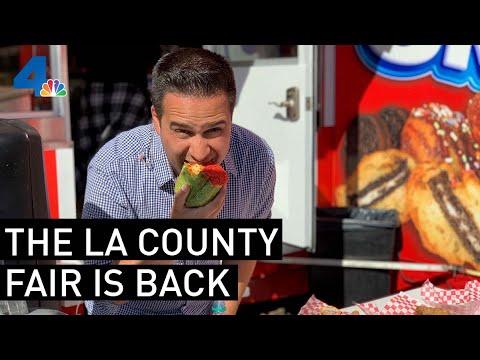 The LA County Fair Is Back! | NBCLA