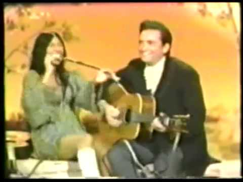 Buffy Sainte-Marie; Johnny Cash - Custer Don't Ride Very Goo