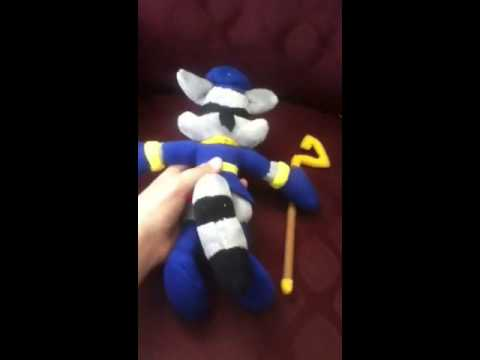 Sly Cooper Stuffed Animal, My Sly Cooper Plush Youtube