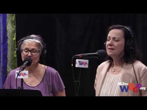 Janis Siegel and Lauren Kinhan sing