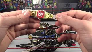 WWE Figure Belt Collection