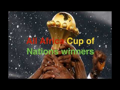 All Africa Cup of nations Winners