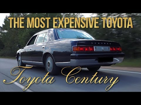 The Most Expensive Toyota - Century GZG50