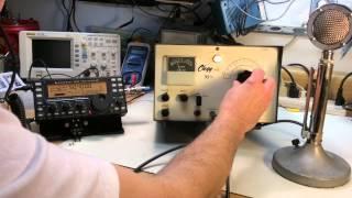 Let's Look At A Vintage Clegg 99'er Six Meter AM Ham Radio Rig