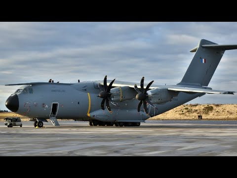 128 V   Airbus A400M Atlas - First Years