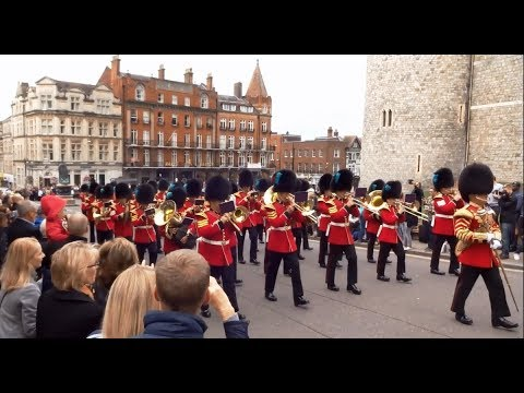 Changing the Guard at Windsor Castle - Saturday the 16th of September 2017