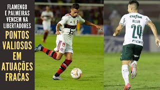 Flamengo vence jogando menos do que pode e Palmeiras faz lembrar time de Felipão