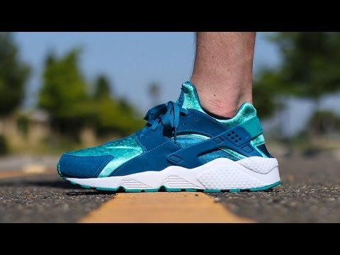 new styles c7f52 093ed Nike Air Huarache - Green Abyss Turbo Green