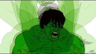 Hulk Transformation Animation Update