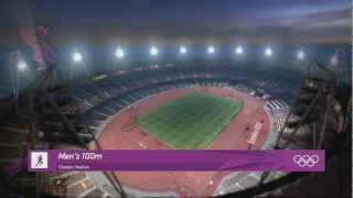 London 2012 Olympics Official Game: 100m World Record 9.38!